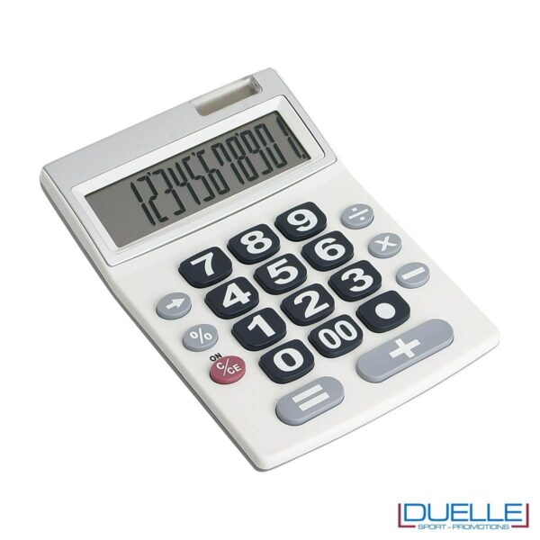 Calcolatore 12 cifre personalizzato