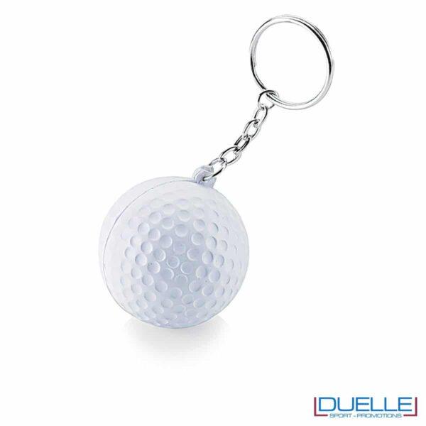 Portachiavi personalizzato pallina da golf
