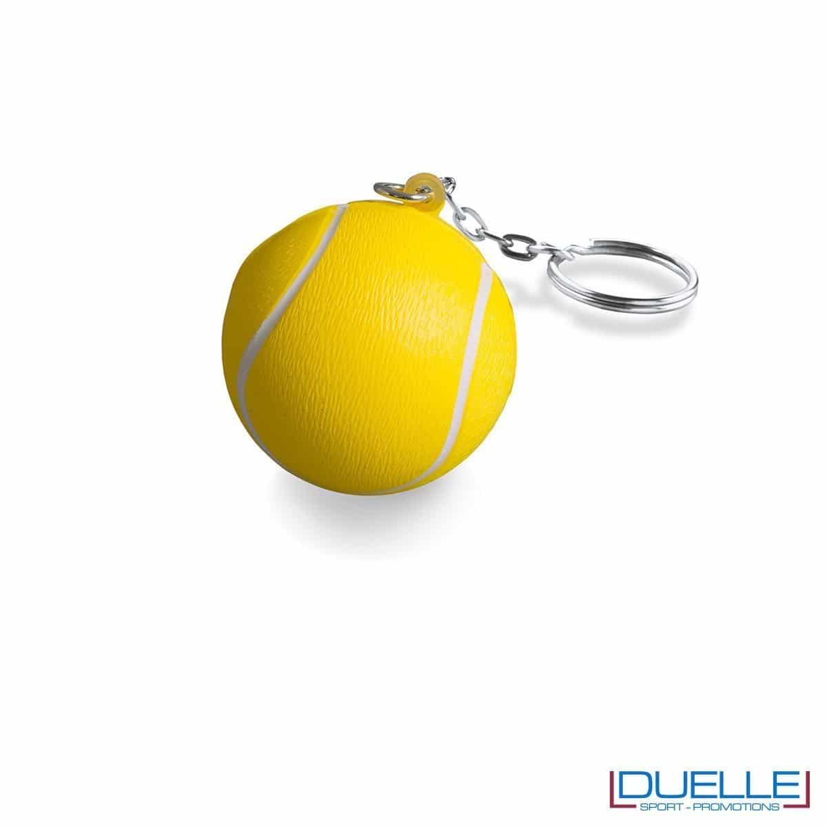 Portachiavi antistress pallina di tennis