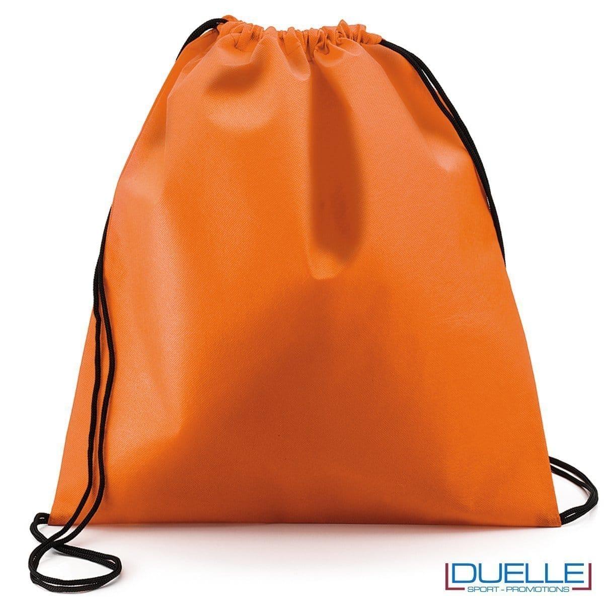 zaino personalizzato portascarpe in colore arancione