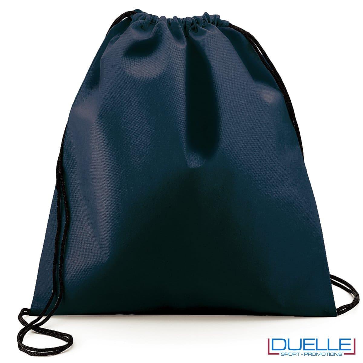 zaino personalizzato portascarpe in colore blu navy