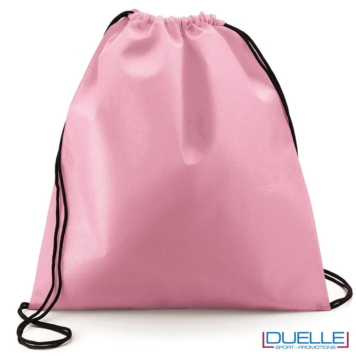 zaino personalizzato portascarpe in colore rosa