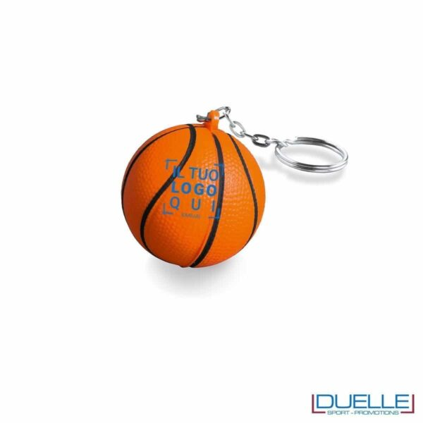 portachiavi basket antistress personalizzato