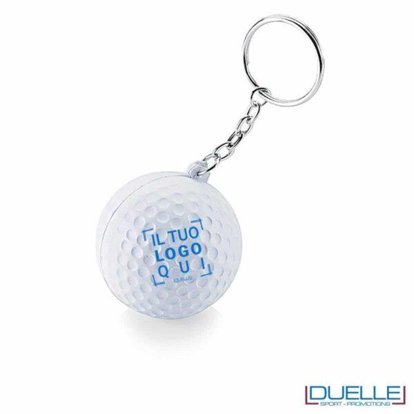 portachiavi personalizzato golf antistress economico