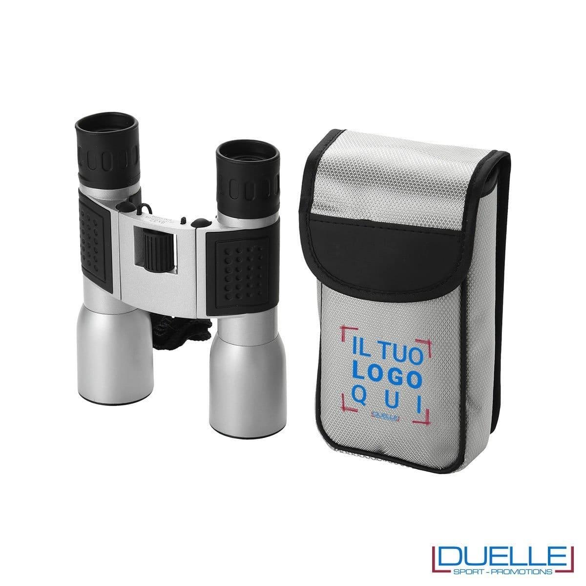 binocolo personalizzato in metallo con incisione laser,, gadget montagna personalizzati