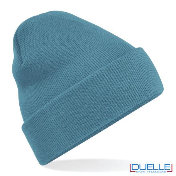 Berretto colore airforce blu