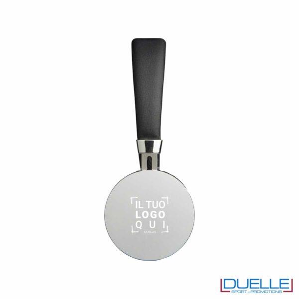Cuffie personalizzate bluetooth colore argento in alluminio