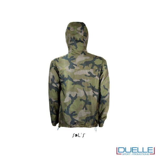 K-way antivento colore camouflage promozionale