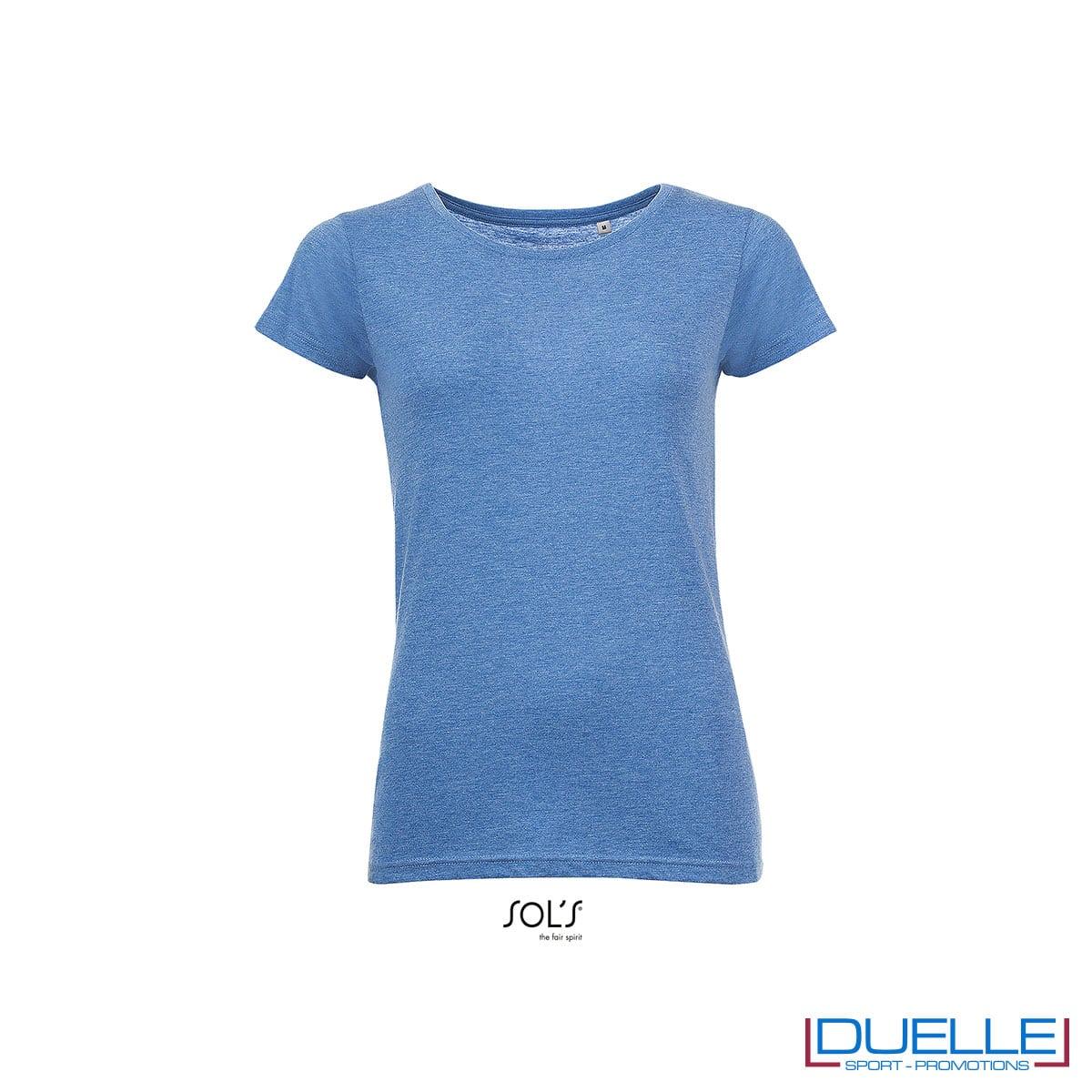 maglia donna blu erica girocollo