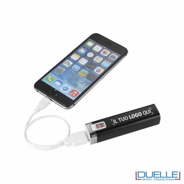 Power bank con display LCD promozionale