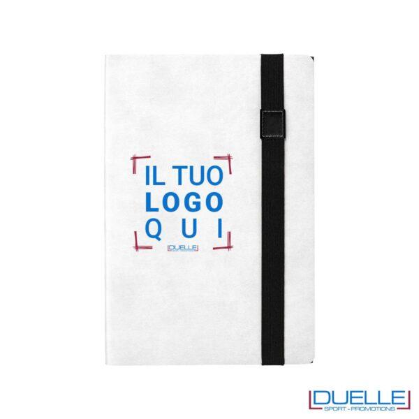 blocco appunti stampato online a due facce in colore nero e bianco