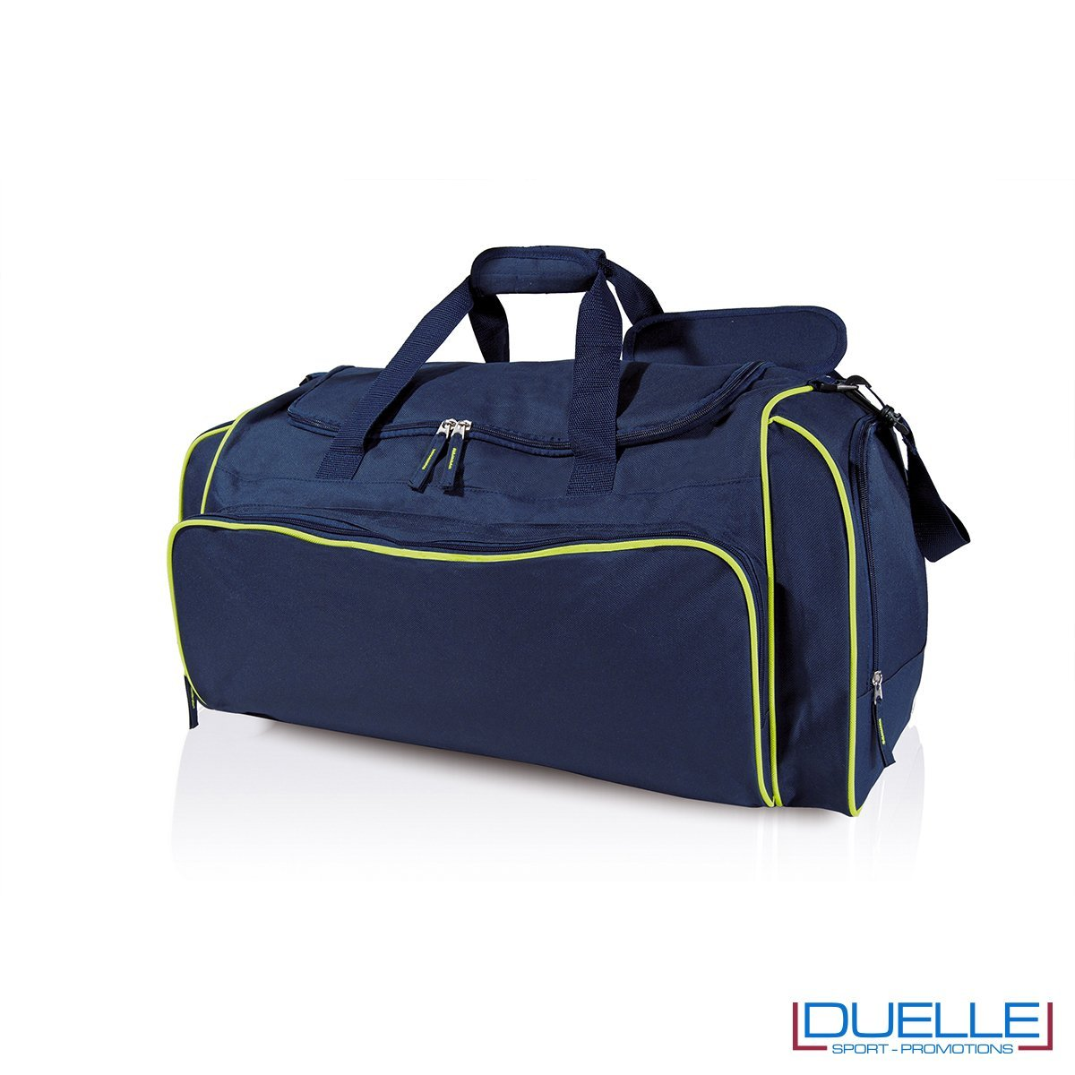 borsa multi sport colore blu navy-lime