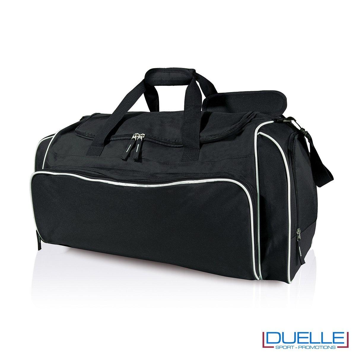 borsa multi sport colore nero-bianco