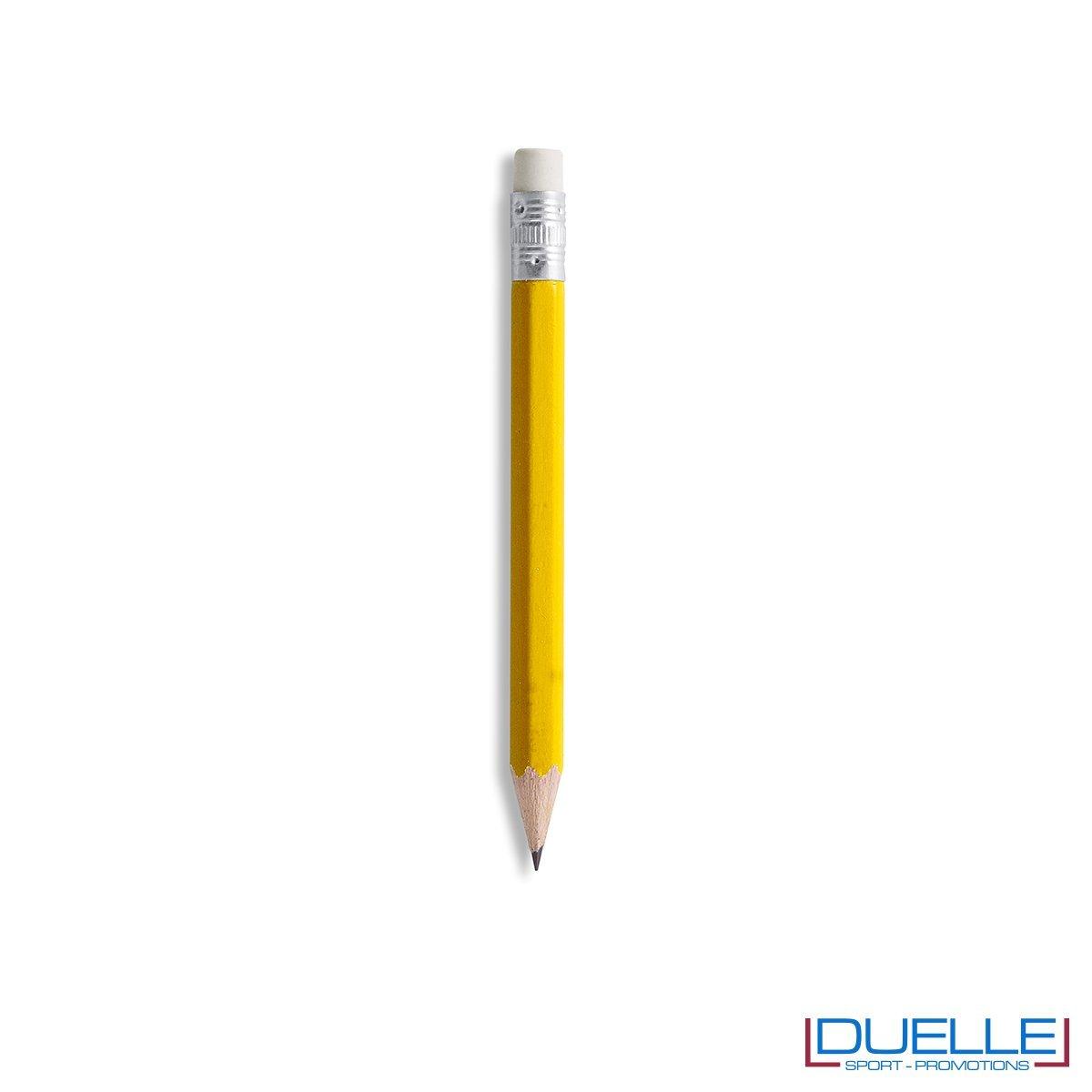 matitina personalizzata in colore giallo