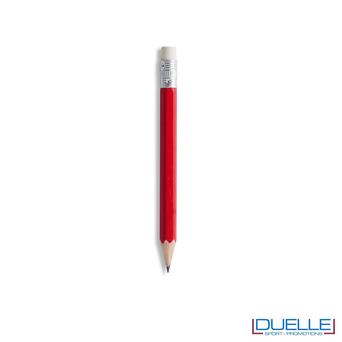 matitina personalizzata in colore rosso
