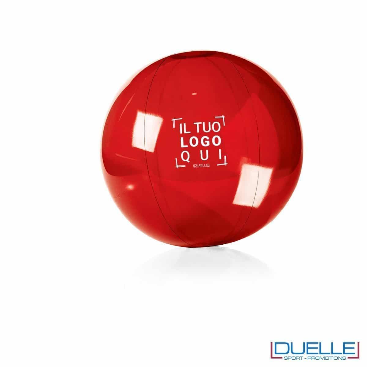 palla personalizzata mare rossa, gadget da spiaggia, gadget promozionale estate
