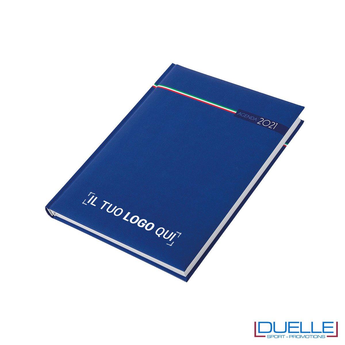 Agenda 2020 tricolore personalizzata colore blu nazionale