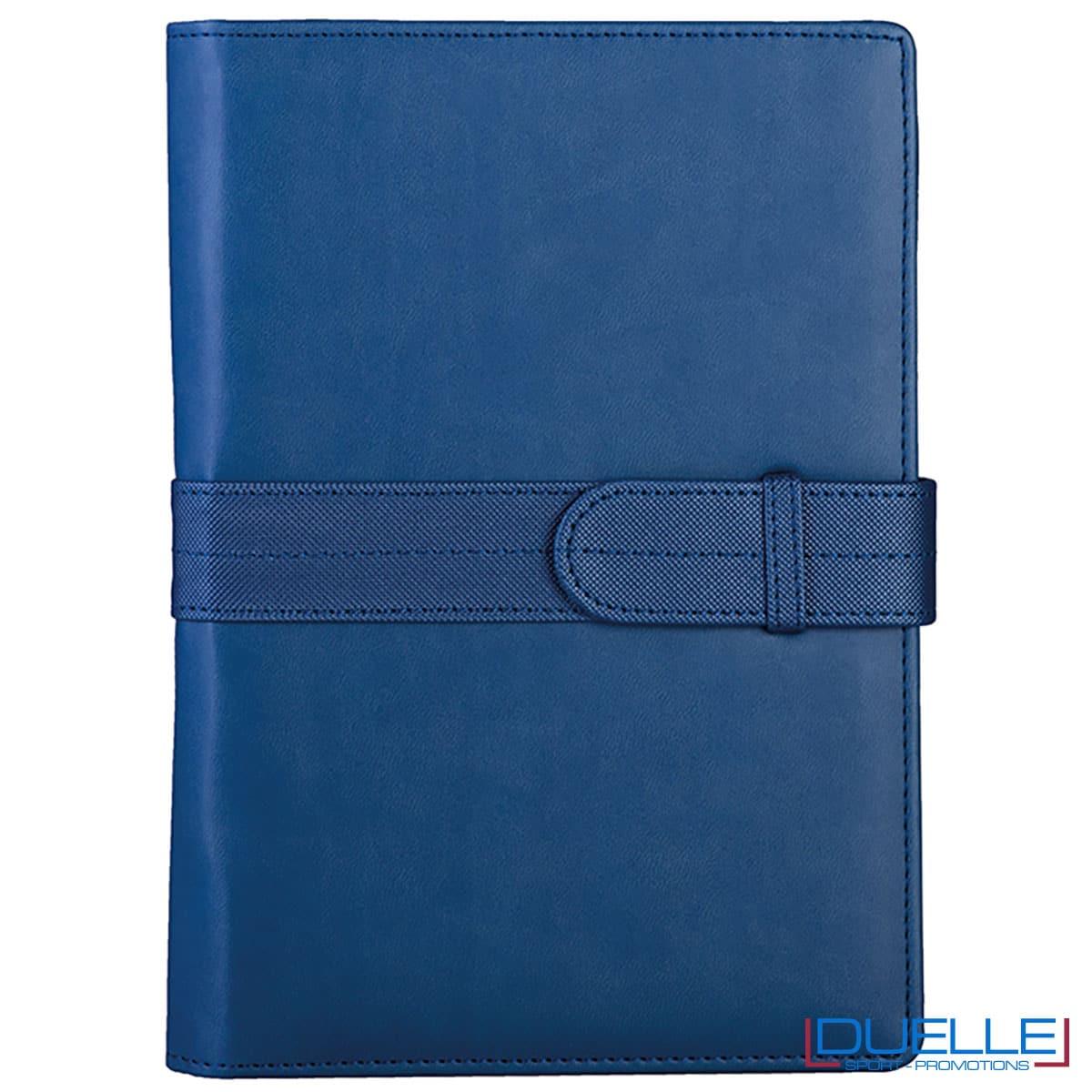 agenda 2022 blu royal da personalizzare con logo