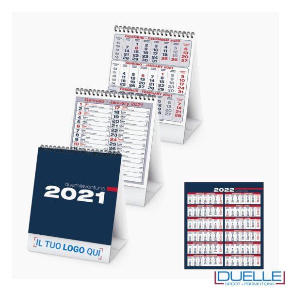 Calendario personalizzato 2020 da tavolo colore blu