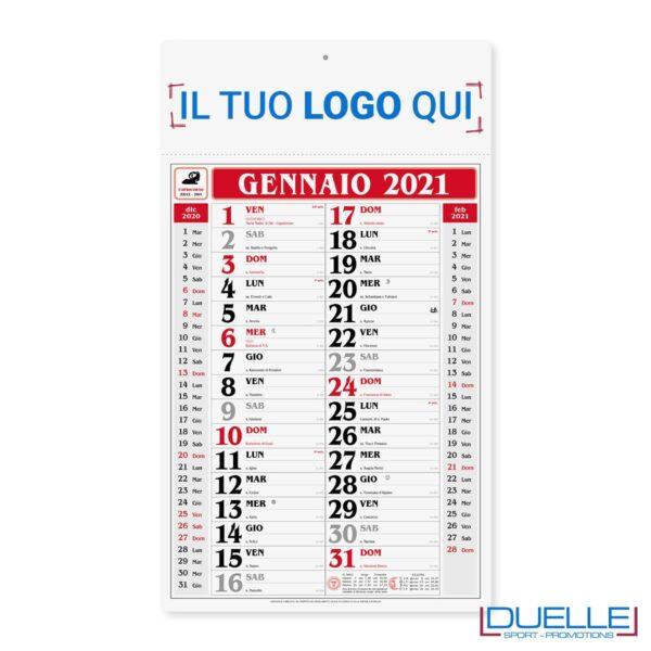 Calendario olandese gigante promozionale 2020 colore rosso