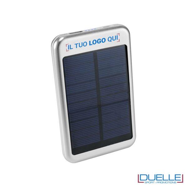 Powerbank con pannelli solari personalizzato