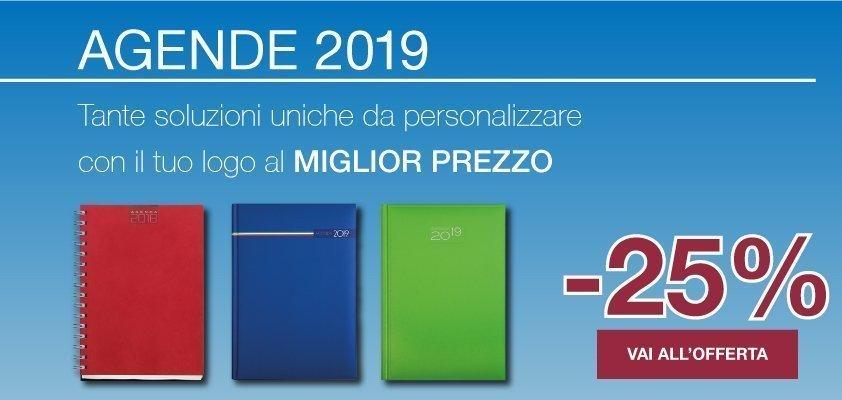 slider agende personalizzate 2019