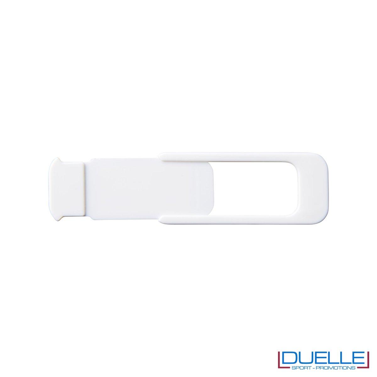 Cover camera per tablet e pc colore bianco personalizzata con stampa
