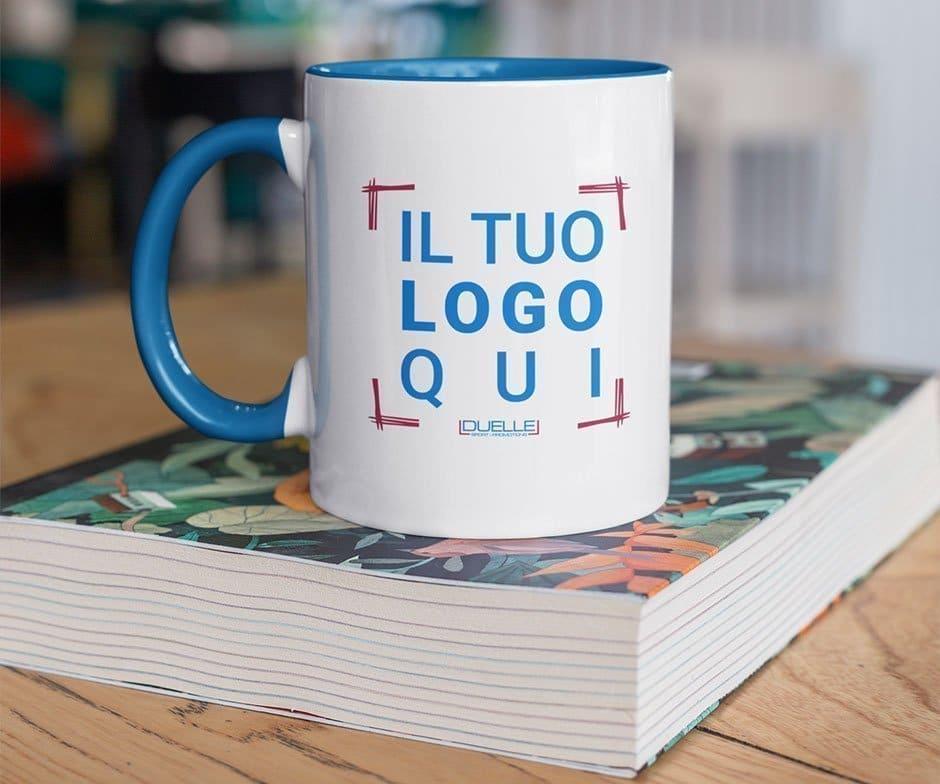 mug in ceramica bicolore personalizzata