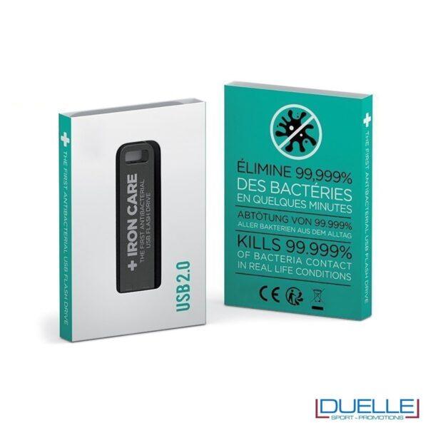 Chiavetta USB personalizzata antibatterica, innovativa pennetta USB personalizzata antibatterica