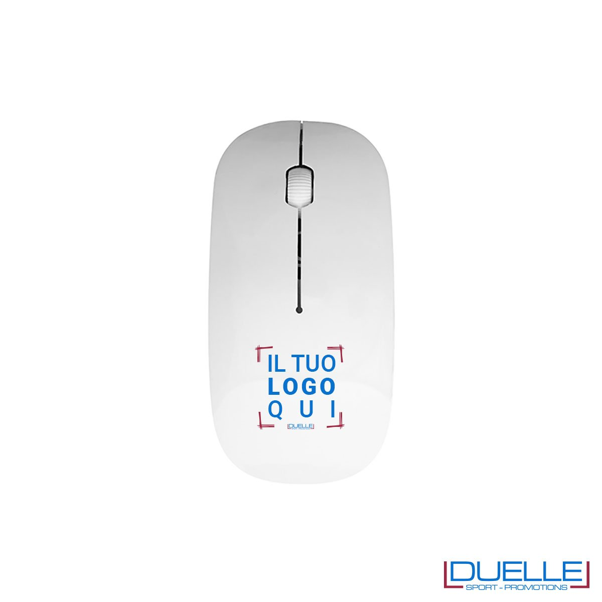 Mouse wireless personalizzabile con stampe colorate