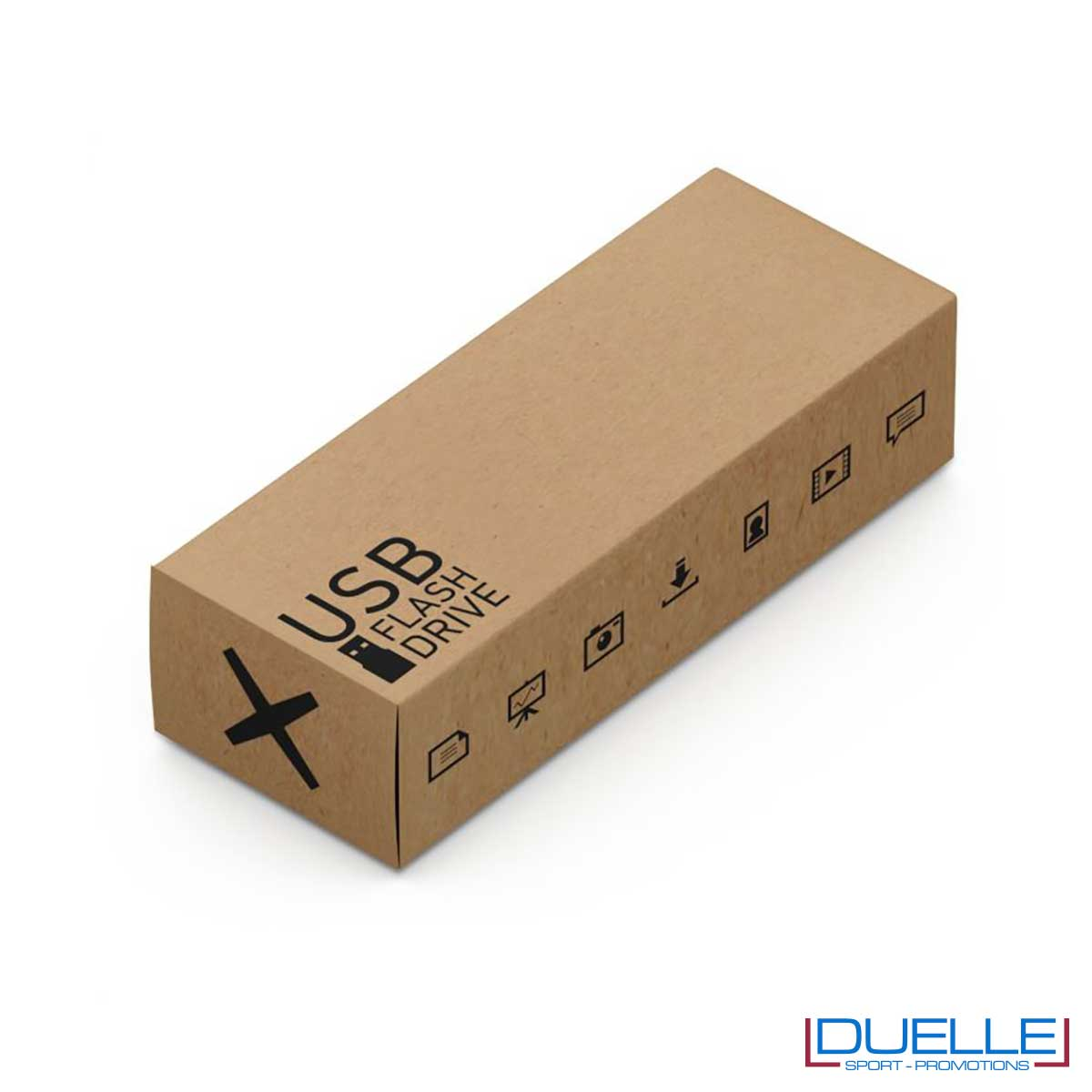Confezione standard chiavetta USB antibatterica