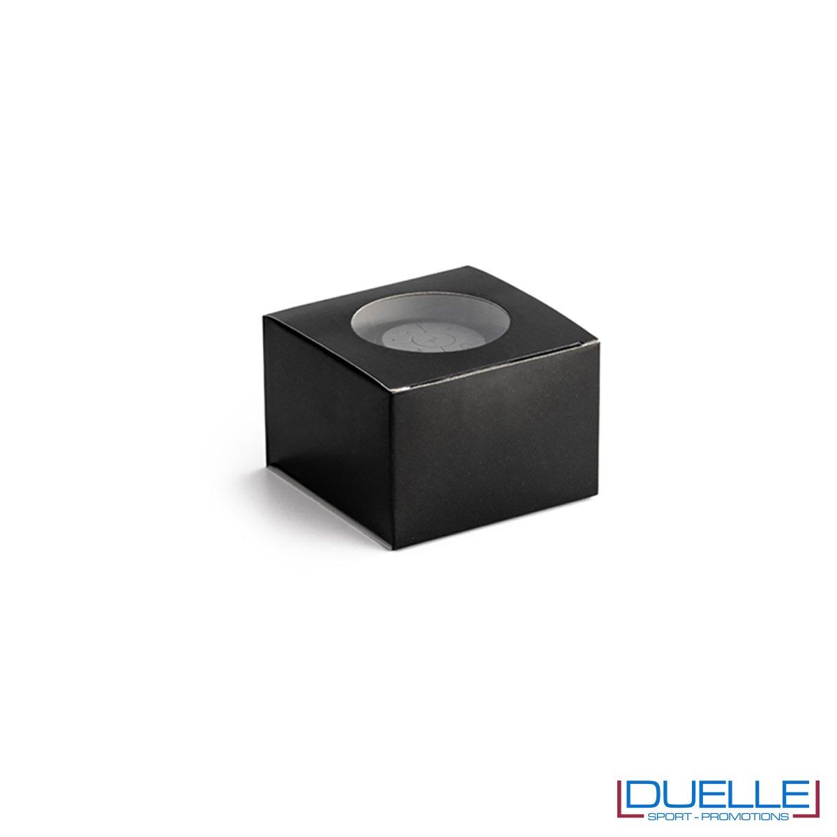 Confezione altoparlante bluetooth personalizzato waterproof