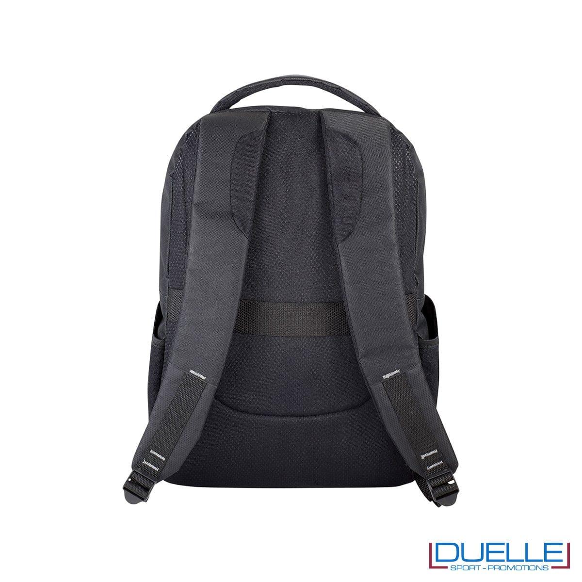 Zaino porta laptop con schienale imbottito e spallacci imbottiti regolabili