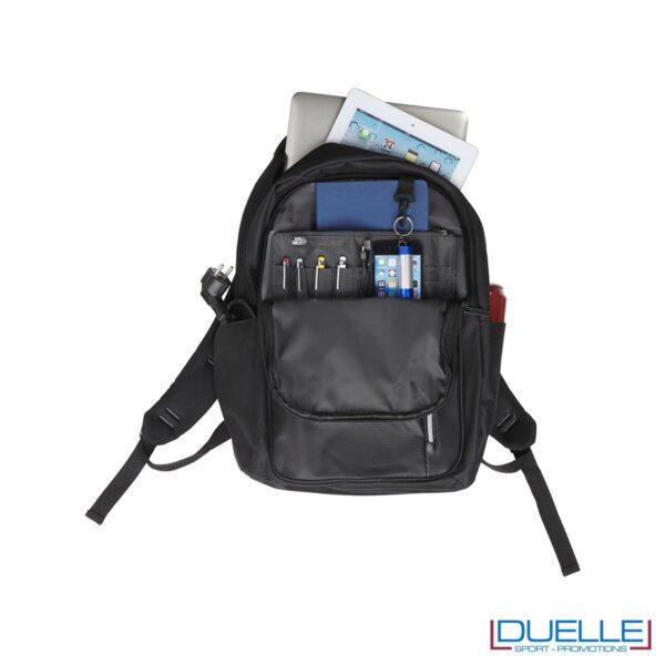 Zaino porta comuter personalizzato con tasca interna con protezione rfid