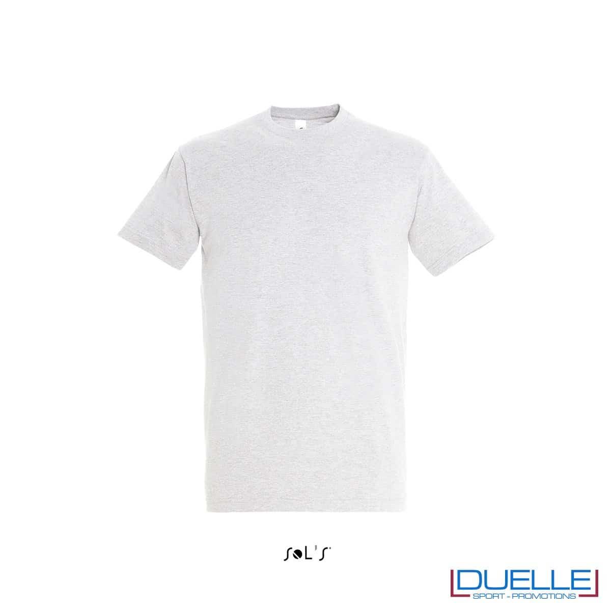 T-shirt in cotone pesante colore ash personalizzata