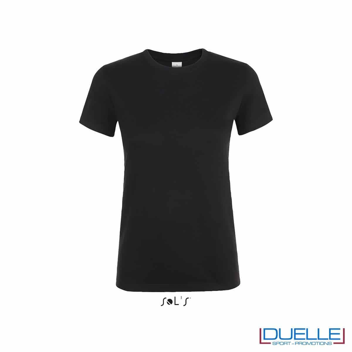 magliette da donna personalizzate in colore nero