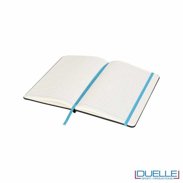 interno blocco appunti personalizzato con pagine a righe