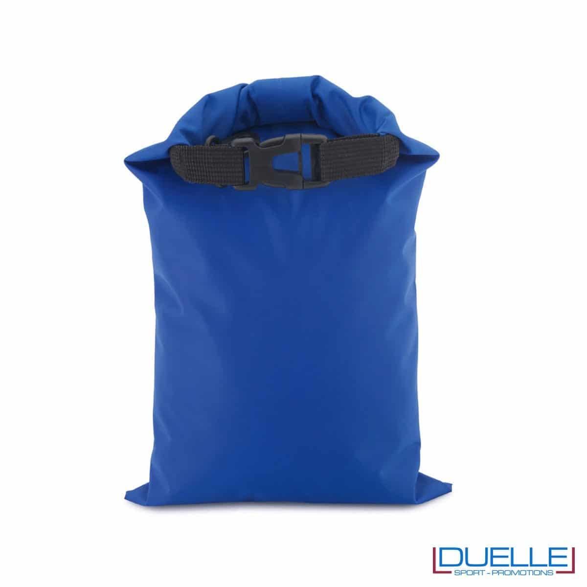 Zaino impermeabile personalizzato colore blu royal
