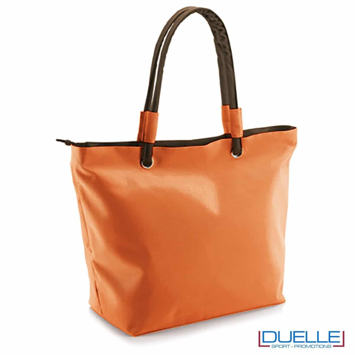 Borsa mare personalizzata colore arancione