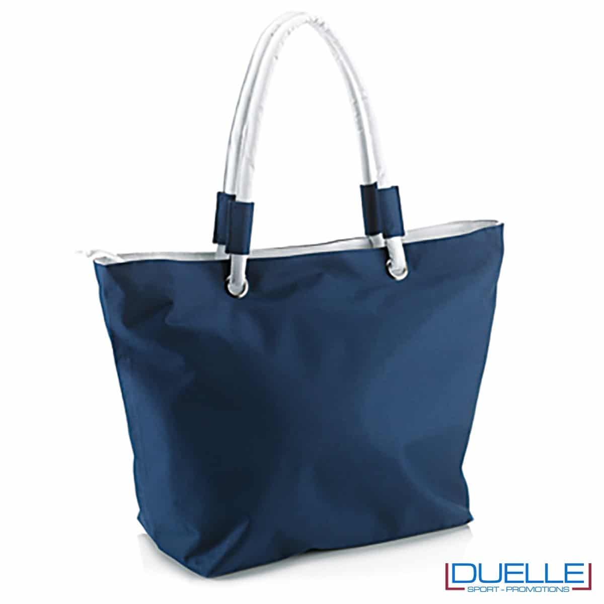 Borsa mare personalizzata colore blu navy