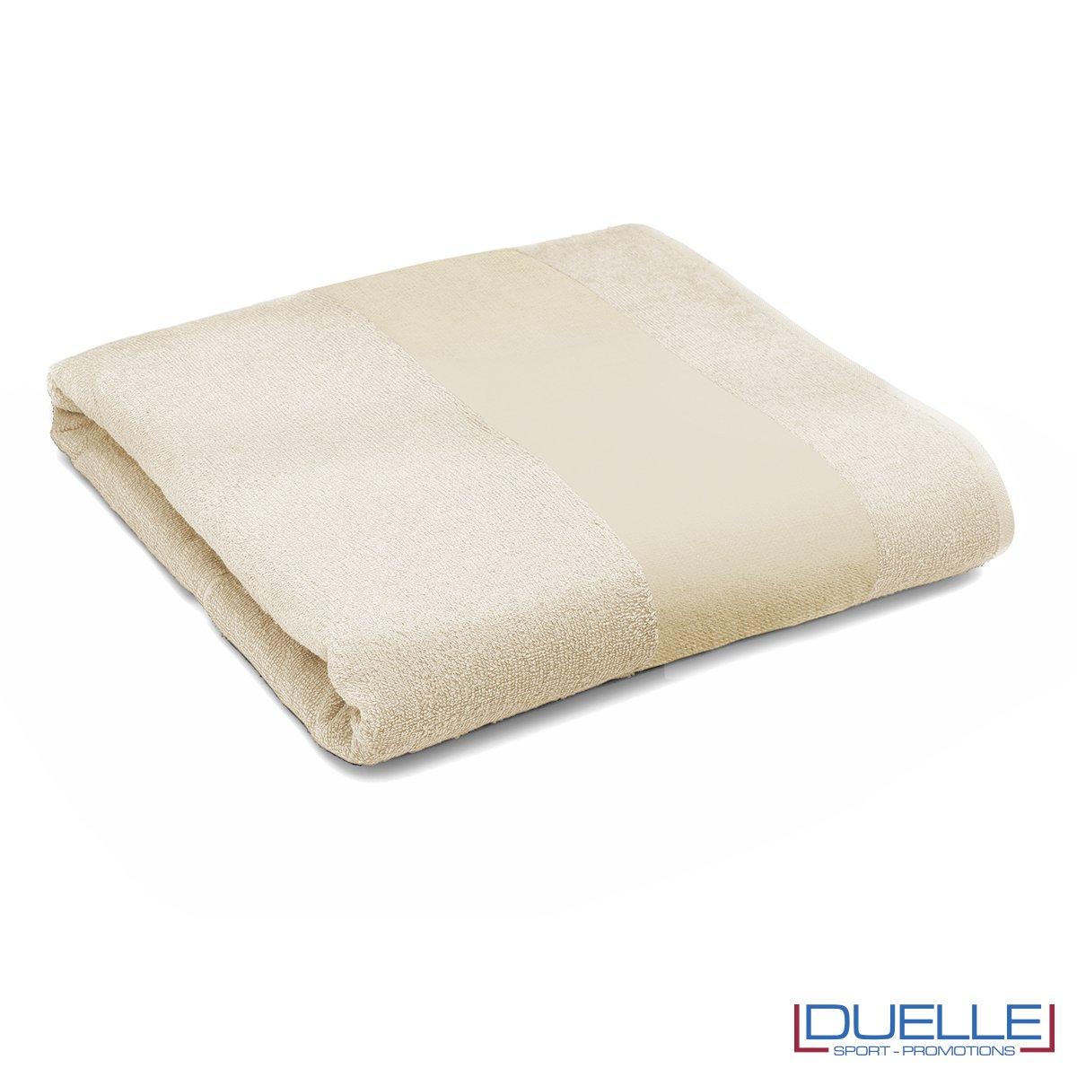 telo personalizzato mare cotone naturale, gadget mare, gadget estate, gadget promozionali 100% cotone