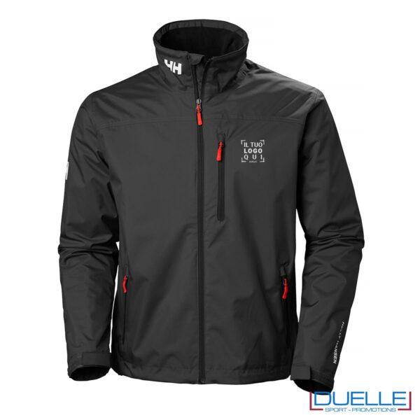 Helly Hansen Crew Midlayer giacca personalizzata colore nero
