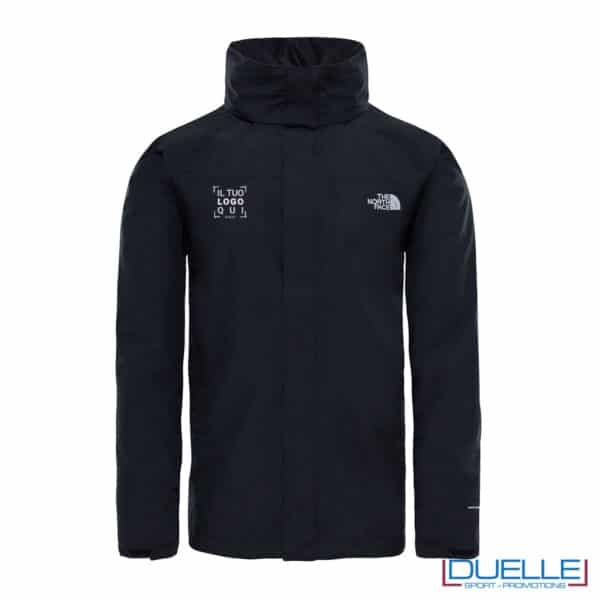 The North Face Sangro jacket personalizzata colore nero