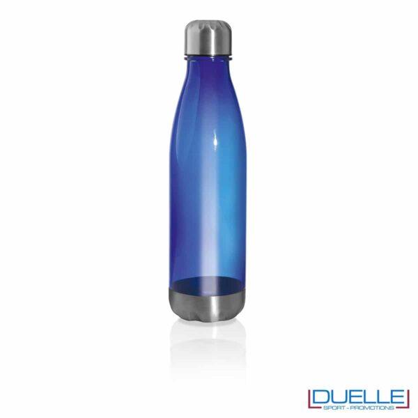 bottiglia personalizzata in tritan blu