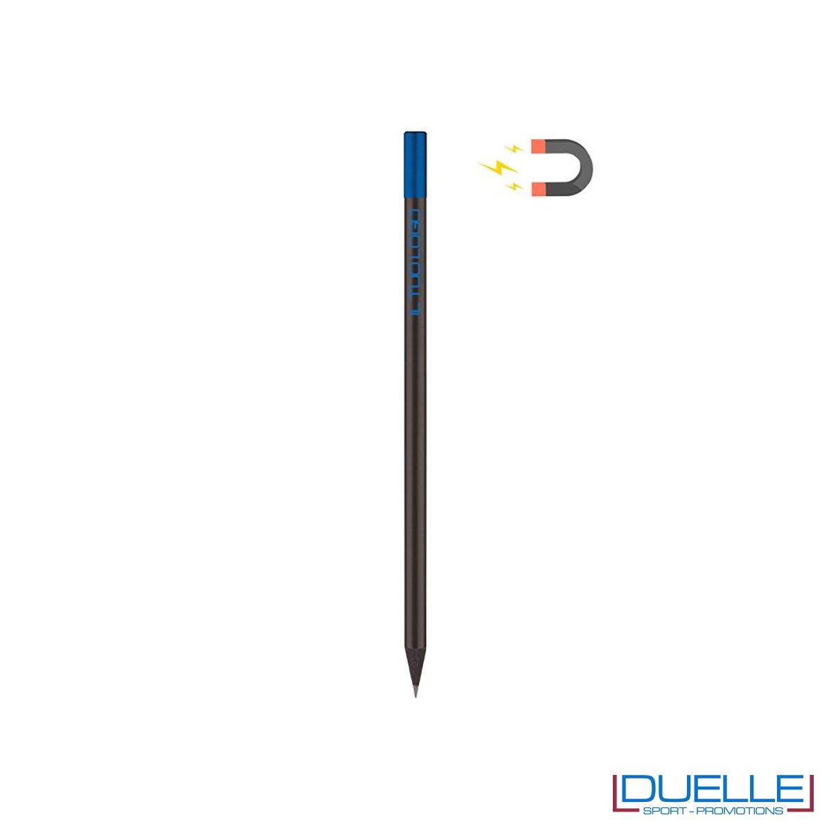 matita con calamita personalizzata colore blu