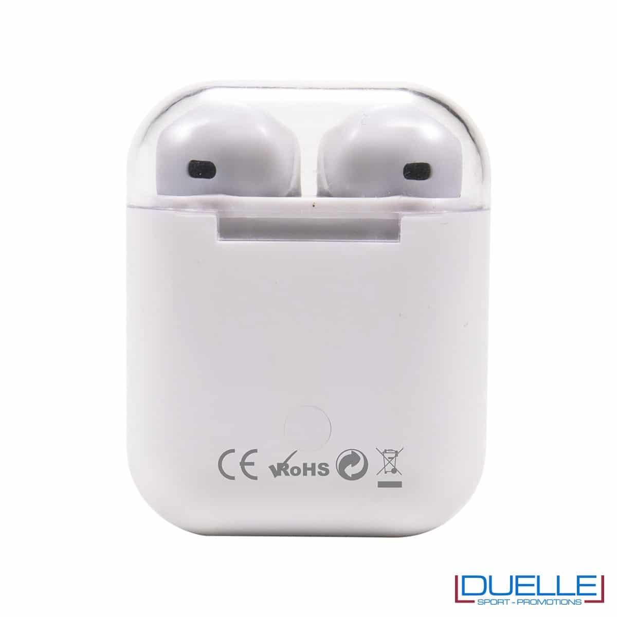 Auricolari bluetooth 5.0 Prixton con touch control personalizzabili