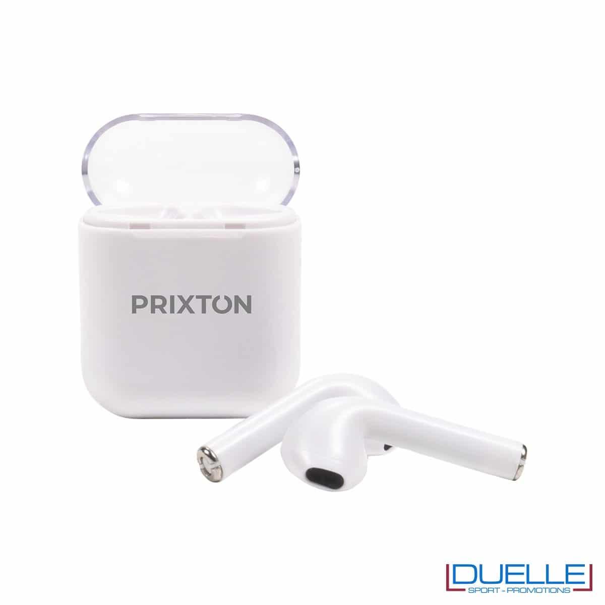 Earbuds bluetooth 5.0 Prixton con base di ricarica magnetica