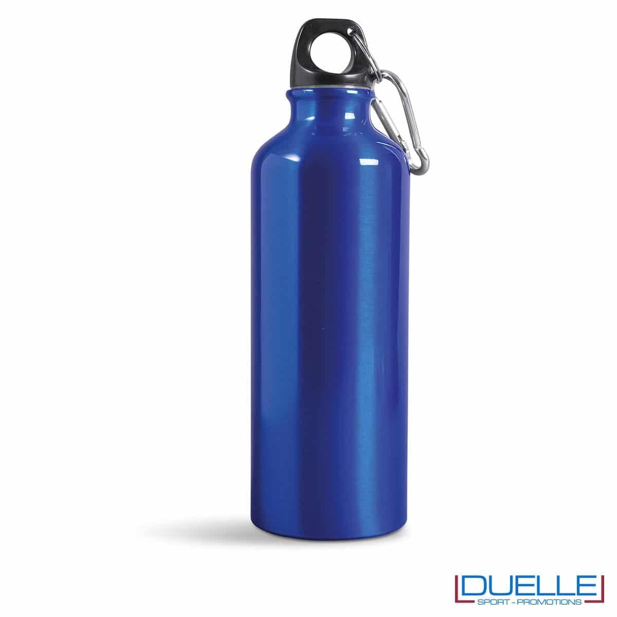 borraccia 500ml in colore blu personalizzata