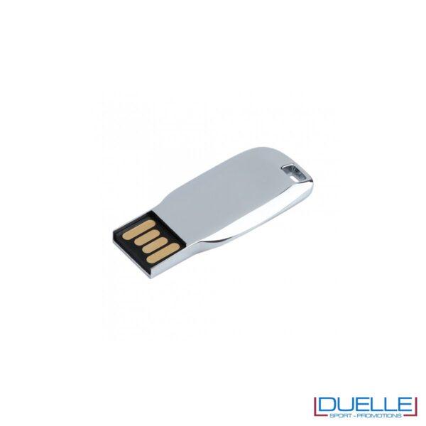 Chiavetta USB personalizzata con incisione in metallo