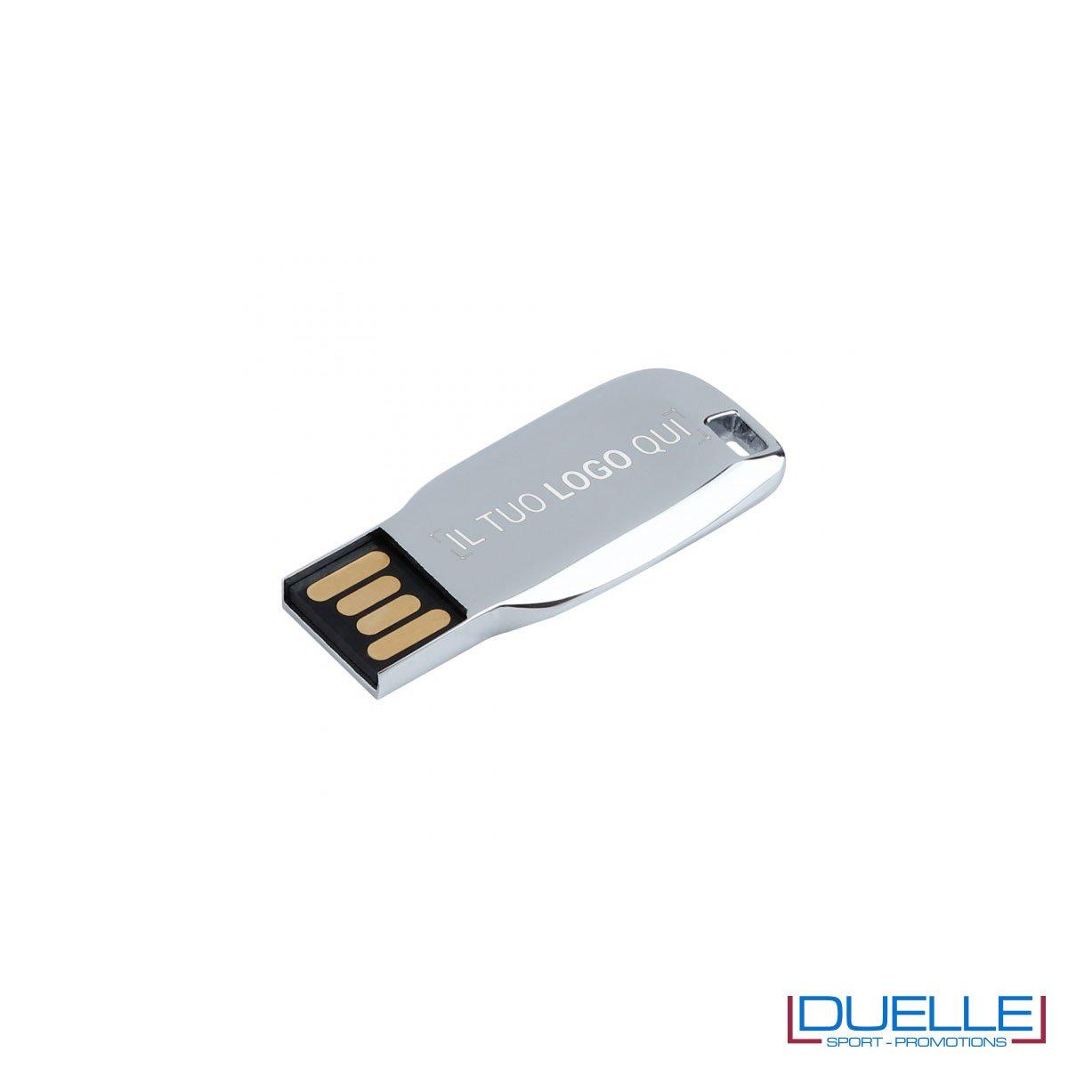 Chiavetta USB in metallo personalizzata 8/16/32 Gb